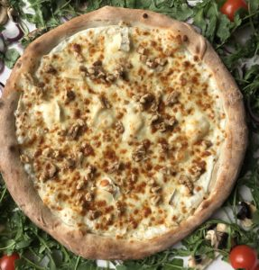pizza chèvre-miel