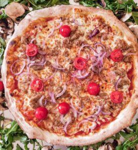 pizza Catalane